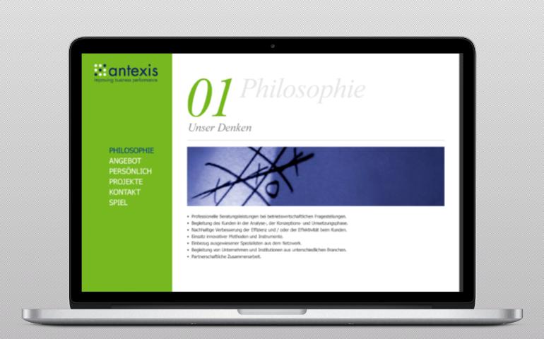 Antexis  web