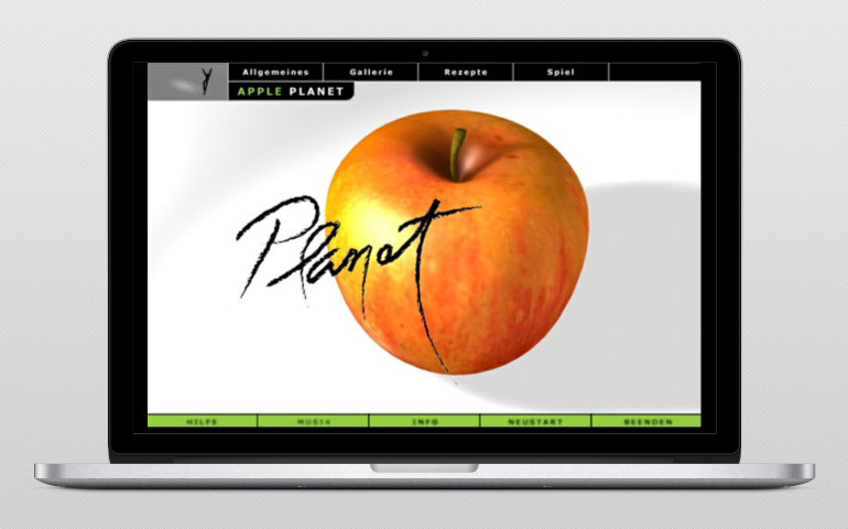 Apple planet web 1