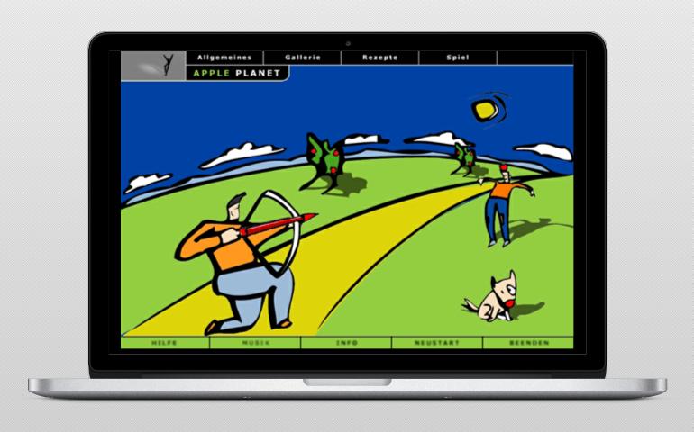 Apple planet web 3