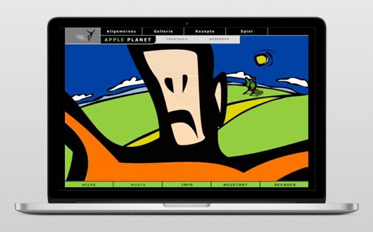 Apple planet web 4