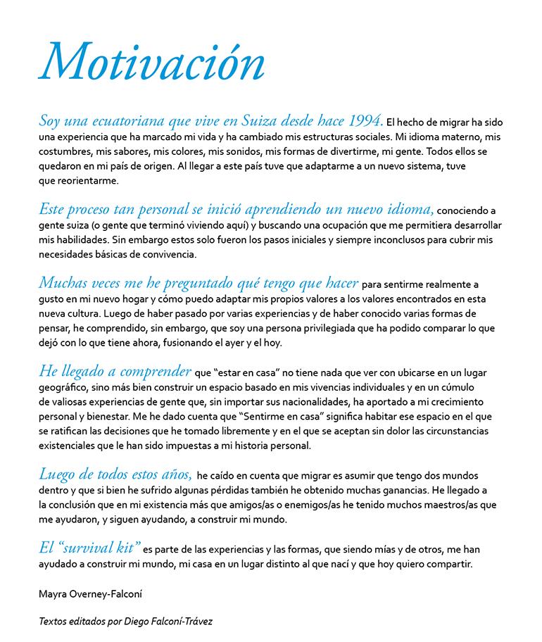Survival Kit Motivation sp
