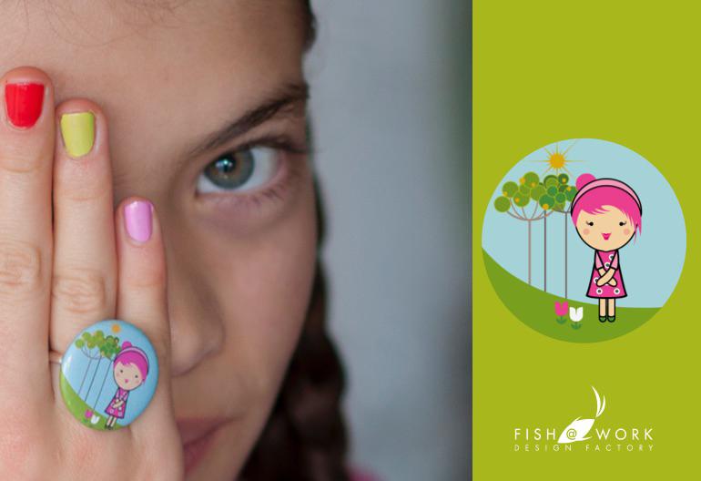 child 8 ring