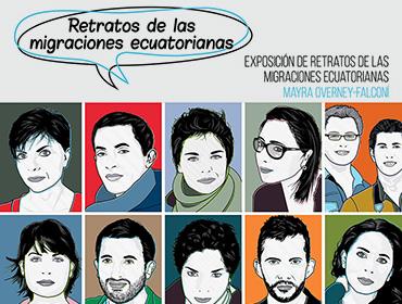 Exposición Retratos de las migraciones ecuatorianas