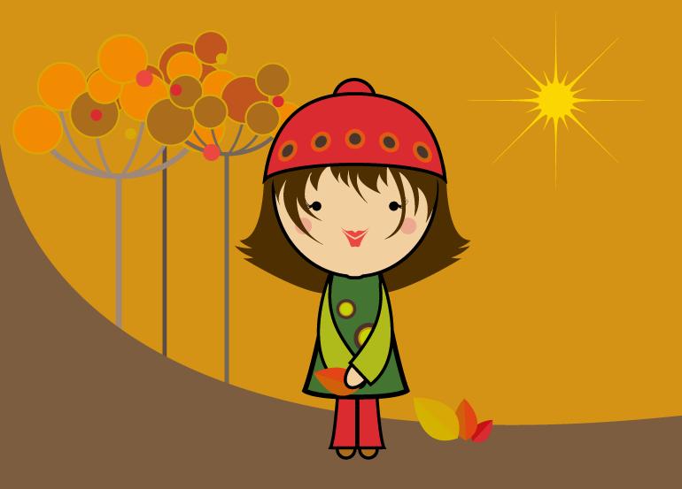season-girl-fall