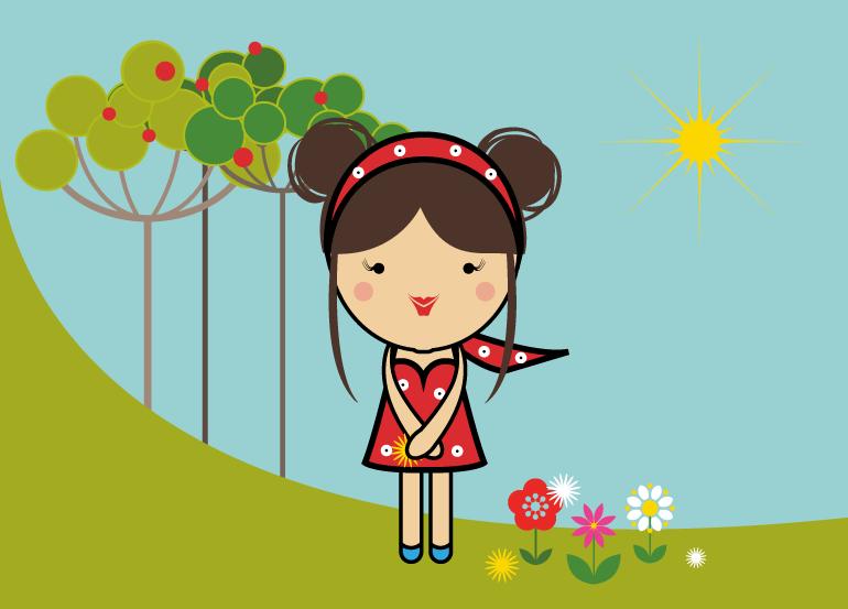 season-girl-sommer