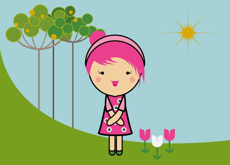season-girl-spring