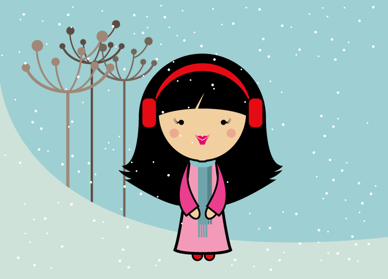 season-girl-winter